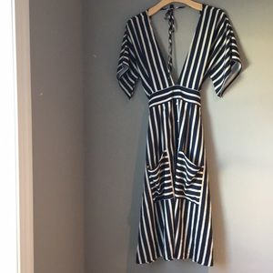 Lumiere Striped Dress